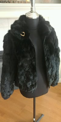 Rabbit Fur Bomber Winter Jacket Calgary, T2T 2G6