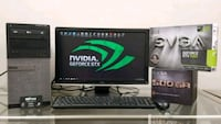 """Dell Gaming Tower GTX 1060 with 20"""" LED Monitor Liverpool, 13090"""