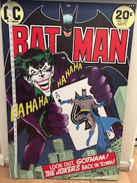 Batman wood poster North Las Vegas, 89031