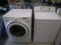 white front-load washer and dryer set Indianapolis, 46235