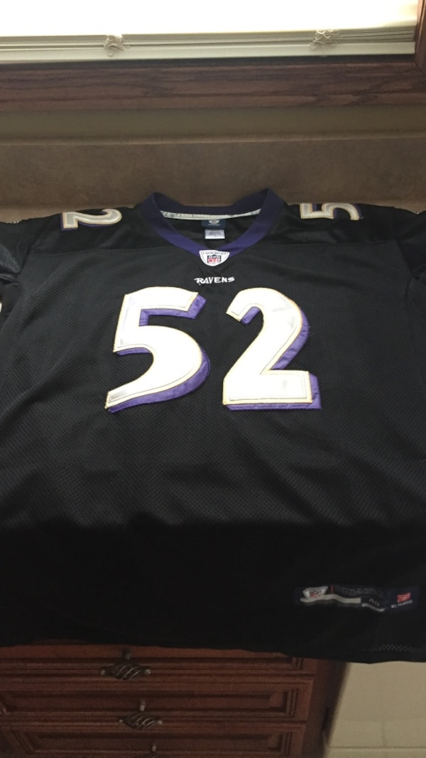 2310f5f5485 Used Ray Lewis jersey size 48 ( like new ) for sale in Cedar Lake - letgo