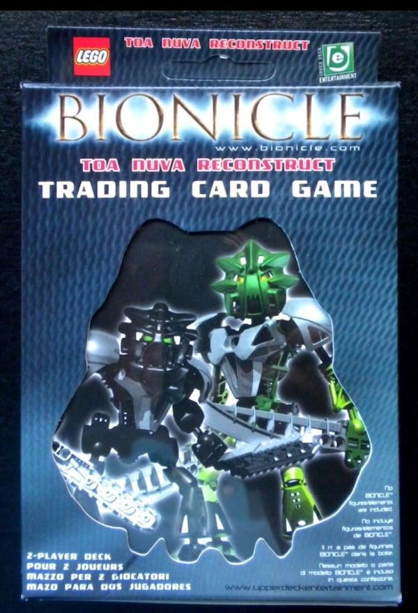 Used Lego Bionicle Toa Nuva Trading Card Game Pack For Sale In San