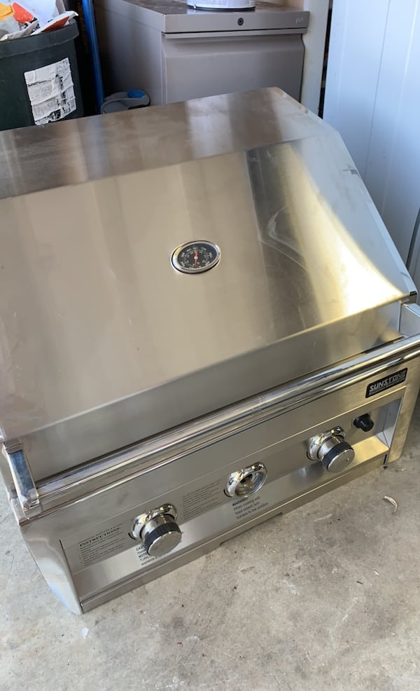 28inch Sunstone Built-in Grill BRAND NEW 0