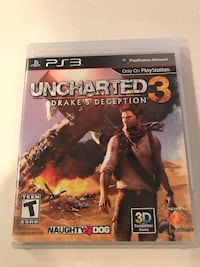 PS3 Uncharted 3 - Drake's Deception Fairfax, 22032