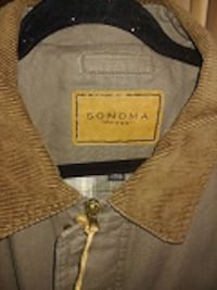 JACKET SONOMA WINTER MENS LARGE - $40 LIKE NEW