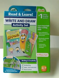 Brand new. Leap tag Write and draw activity set Mississauga, L5B 3R2