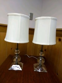 """Antique Cristal Lamps ( 18"""" tall ) Gloucester County, 08051"""