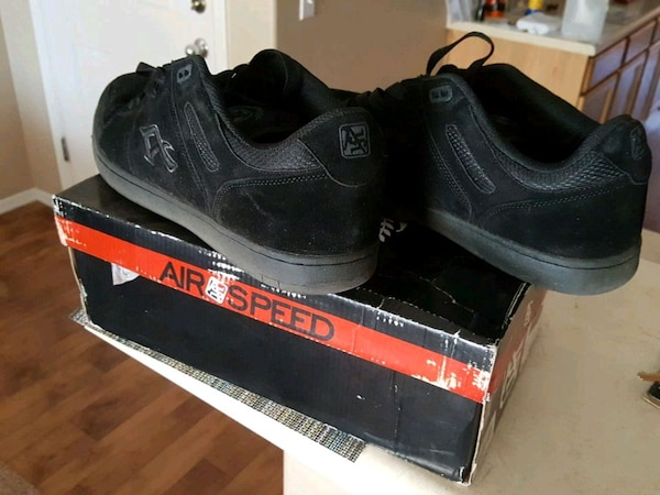 4756a4ced5d8f0 Used pair of black low top sneakers(suede)never worn. for sale in ...