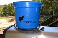 Heated water bucket for horses North East