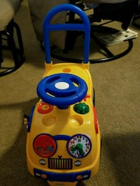 Ride on or push toy