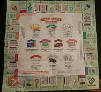 McDonalds Monopoly Stickers/Stamps; Work Together Markham, L3T 4X5