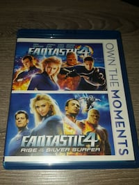 Fantastic 4 & Rise of the Silver Surfer (blu-rays) Gaithersburg, 20879