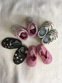 4 size 3 Baby shoes