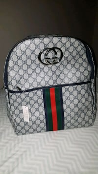 brown and green Gucci backpack Ottawa, K2B 6M8