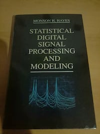 Statistical digital signal processing and modeling Manisa