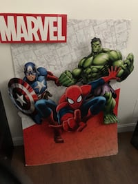 MARVEL IN- STORE DISPLAY 37x49