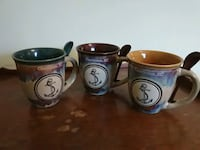 South Carolina mugs with spoons Middletown, 19709