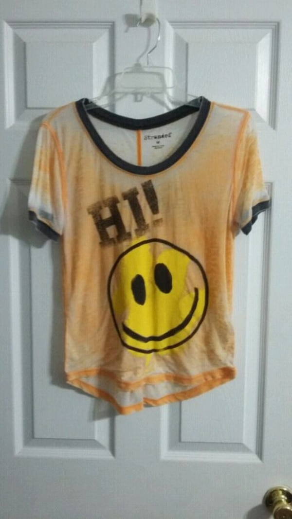 443998ad2 Used Happy Face T-shirt by Stranded for sale in Statham - letgo