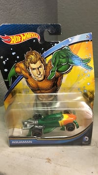 Hot Wheels Aquaman diecast with pack Indio, 92203