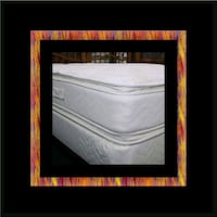 Twin mattress double pillowtop with box spring Upper Marlboro, 20772