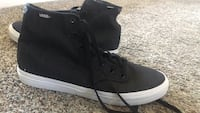 Pair of black high-top sneakers Elk Grove, 95757