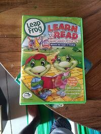 Leap Frog Learn To Read At he story book factory game case Cedar Falls, 50613