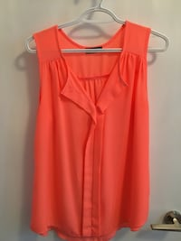 women's orange sleeveless top Toronto, M5J 3B2