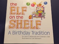 Elf on the shelf a birthday tradition book Waterloo, N2T 0A3
