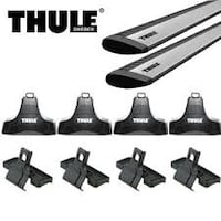 Thule aero rack 2012-15 Focus complete kit Iron Station, 28080