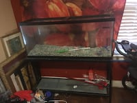 black framed clear glass fish tank Capitol Heights, 20743