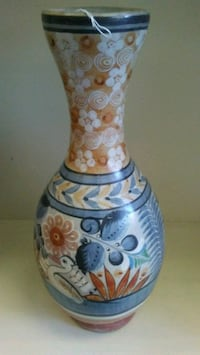 "Large Vintage Mexican Tonala Pottery 18"" Vase Whittier, 90606"