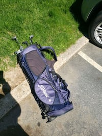 baby's purple and black jogging stroller Sturbridge, 01518