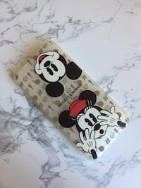 Cover iPhone 6/6s silicone minnie e topolino