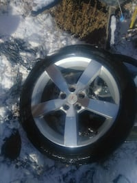 Set of 18's needs may need tires.. Moriarty, 87035