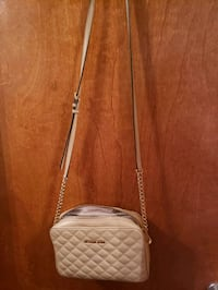 Beige crossbody Michael Kors bag South Fork, 15956