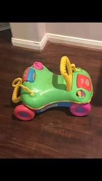 Toddler Walk n Ride by Fisher Price
