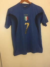 Blue italia 7 jersey shirt Mobile, 36618