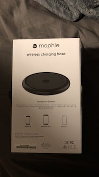 Mophie wireless charger iPhone 8, 8 plus, X