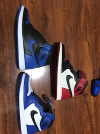 BRED TOE/GAME ROYAL/ROYAL 1s DS SOLD SEPERATE SZ 11