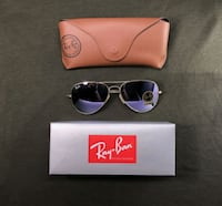 black framed Ray-Ban sunglasses with box Miami, 33196