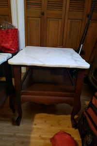 Victorian Marble top table set 503 mi