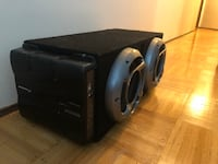 """2 x 10"""" pioneer subs and 800watt amp Vancouver, V6H 2V9"""