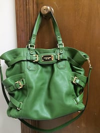 green leather 2-way handbag Vicksburg, 39180
