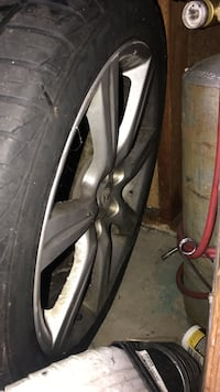 2006 subaru wrx rims 17' set of 4