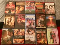 DvD movies $2 each or 3x $5 Paterson, 07505