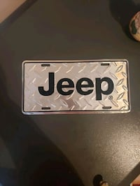Jeep licence plate Clarksburg
