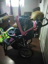 red and black tandem stroller Alexandria, 22305