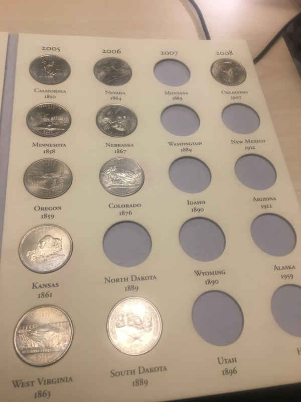 Coins state commemorative quarters  3