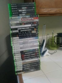 Xbox 350 and Xbox one games Riverside, 92509