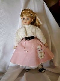 Porcelain 50's Doll Tennessee, 37013